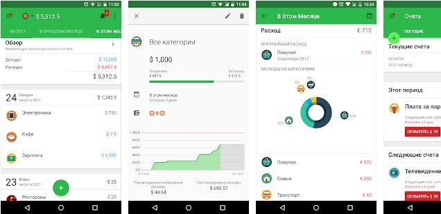 Money Lover приложение для учета личных финансов