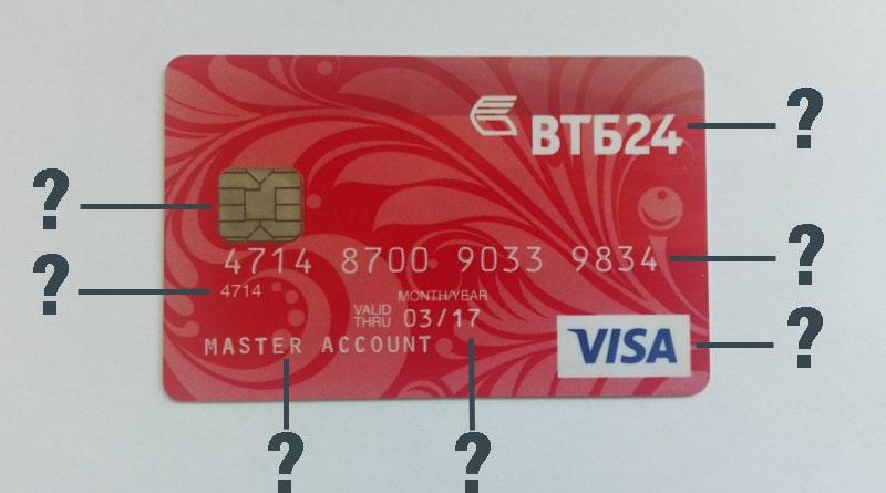 Как выглядит банковская карта: внешний вид и как устроена