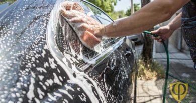 Штраф за мойку машины 2019: во дворе, на речке, у водоема, гараже