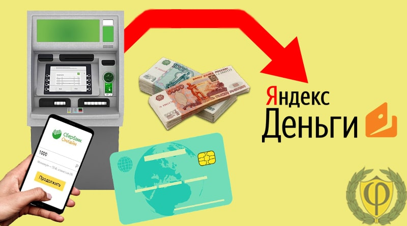 Как пополнить Яндекс деньги через Сбербанк Онлайн и терминал