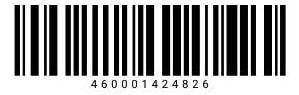 Штрих-код карты Лента