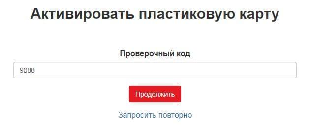 Ввод проверочного кода на verno-info.ru