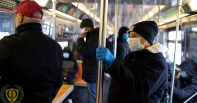 Штраф за отсутствие маски и перчаток в общественных местах