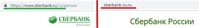Отличие названия сайтов